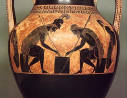 Døden ved spillebretter; fra Albertus Pictor til Exekias