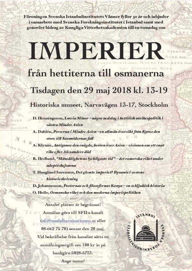 1. Imperiedagen, affisch